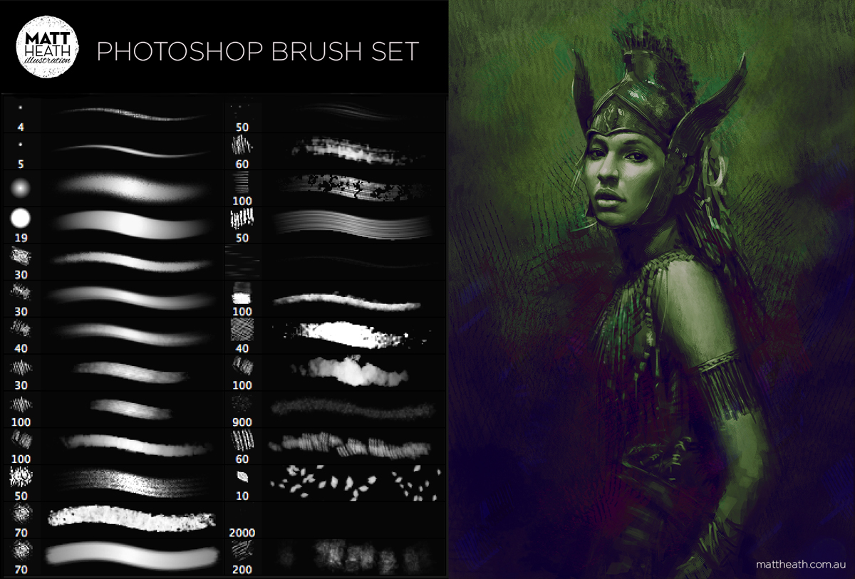 Free-Photoshop-Brush-Set