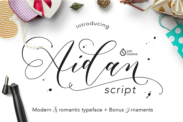 Free latest romantic script fonts for graphic