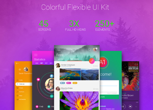 Free Flexible UI Kit
