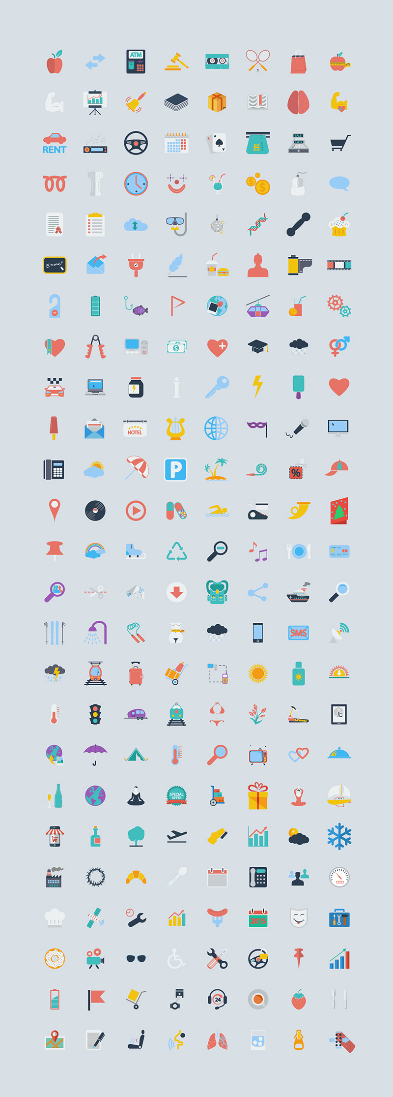 400 Free Icons of the World-Preview 1