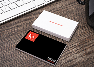Free Designer Business Card Mockup