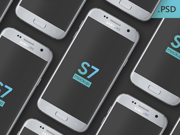 Free Samsung Galaxy S7 PSD Mockup-Preview 1
