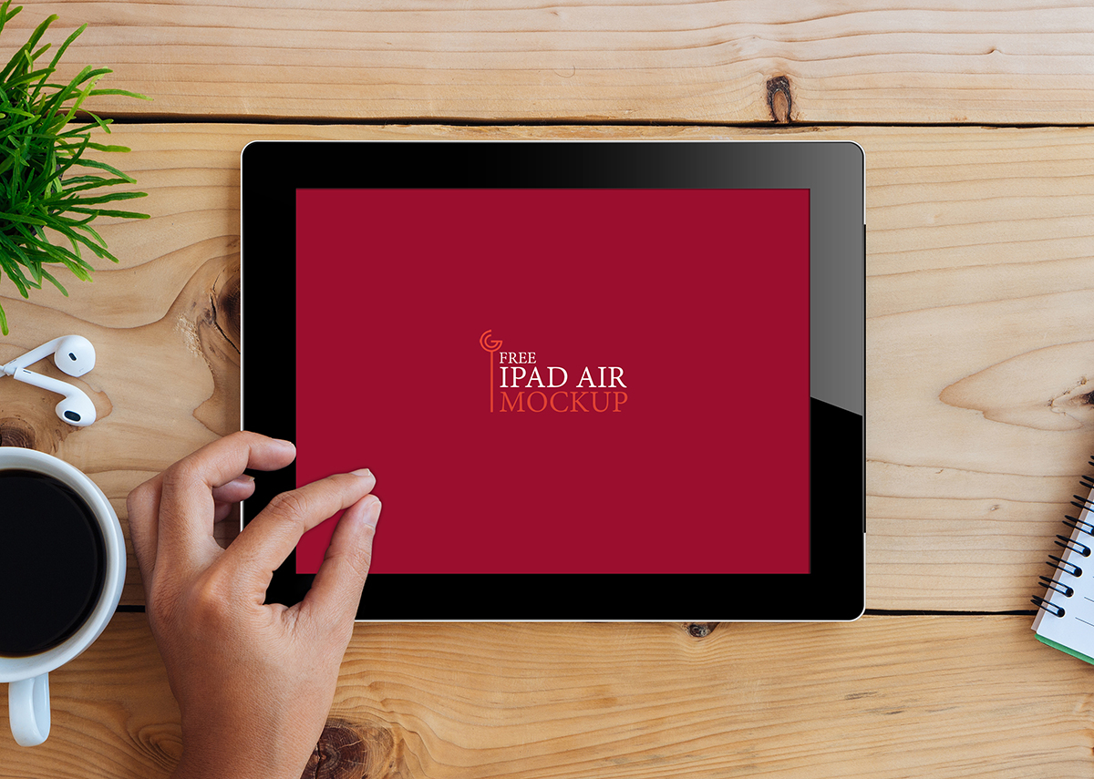 iPad Air Mockup Preview