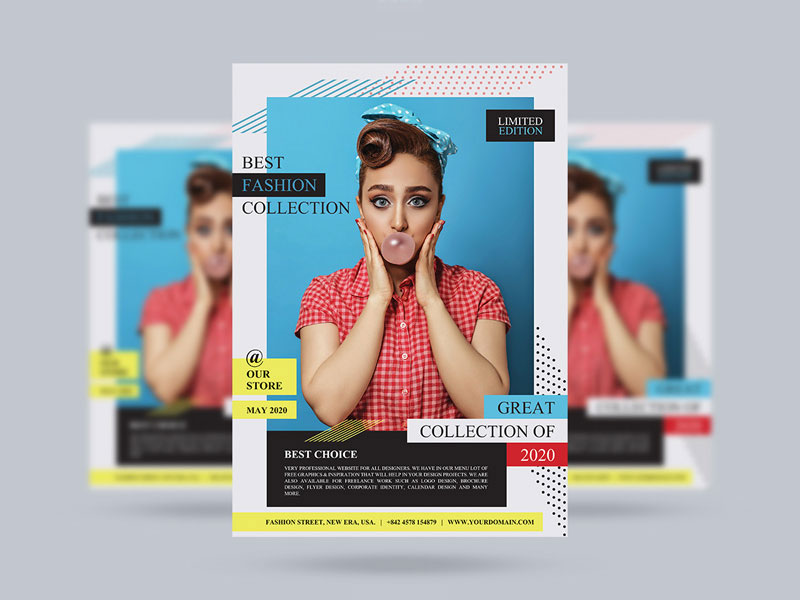 Free-Fashion-Sale-Collection-Flyer-Template