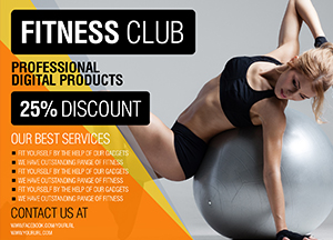 Free Fitness Flyer