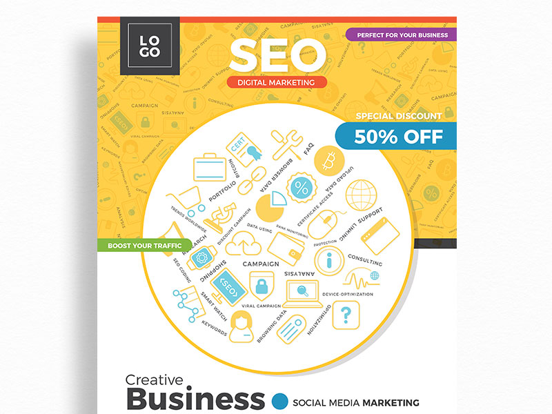 Free-Modern-SEO-Flyer-Design-Template