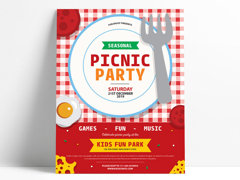 Free-Party-Fun-Flyer-Design-Template