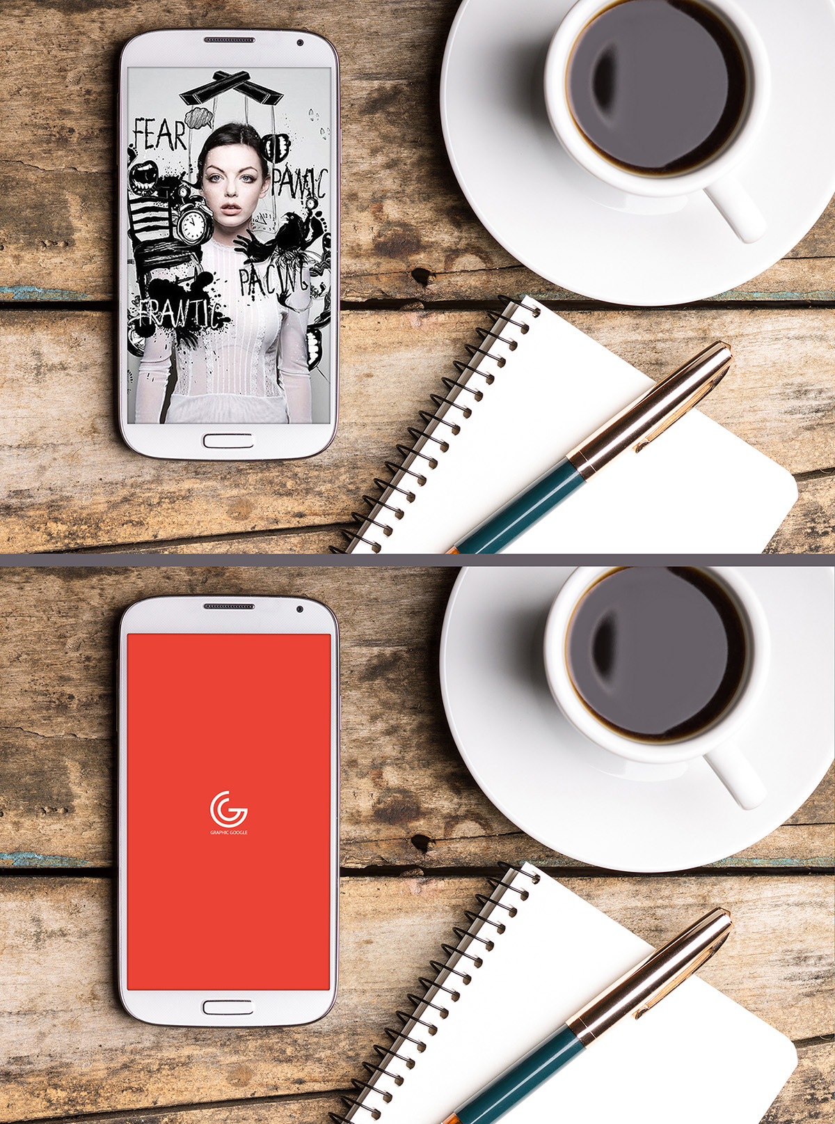 Free Personal Smartphone Mockup