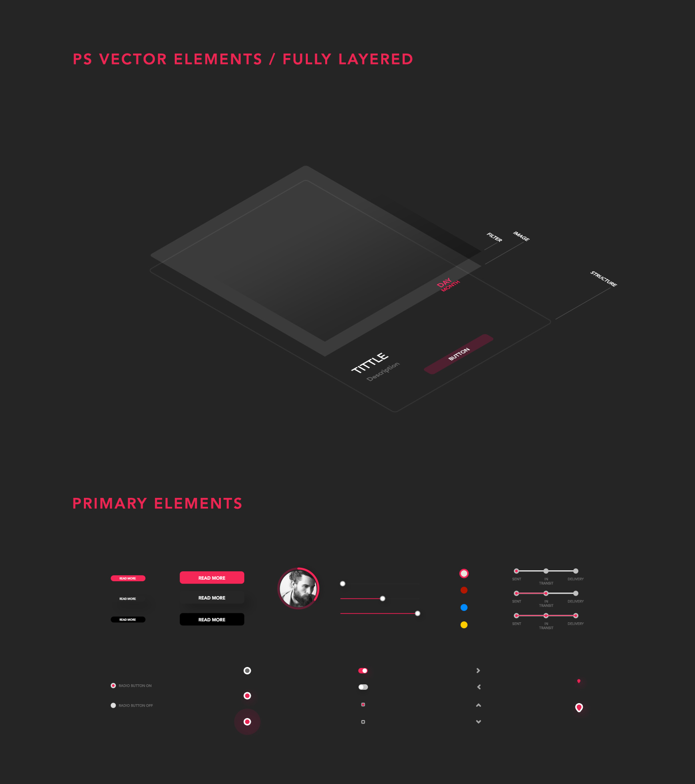 Free AEREA UI-UX Kit with Plus 50 Elements-1