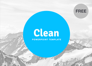Free Clean PowerPoint Template For Designers With 18 Slides