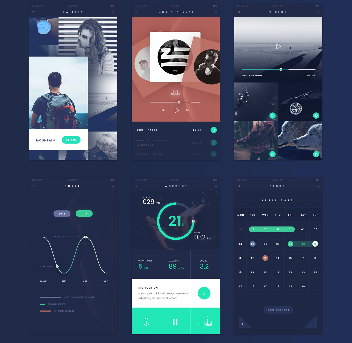 Free-FADE-APP-UI-Kit-Psd-File-2 Template App Android Psd on modern warfare profile, folder icon, mobile dimensions web design, artist one sheet, free infographic, book cover mockup, one page website, responsive website, email signature, website design,