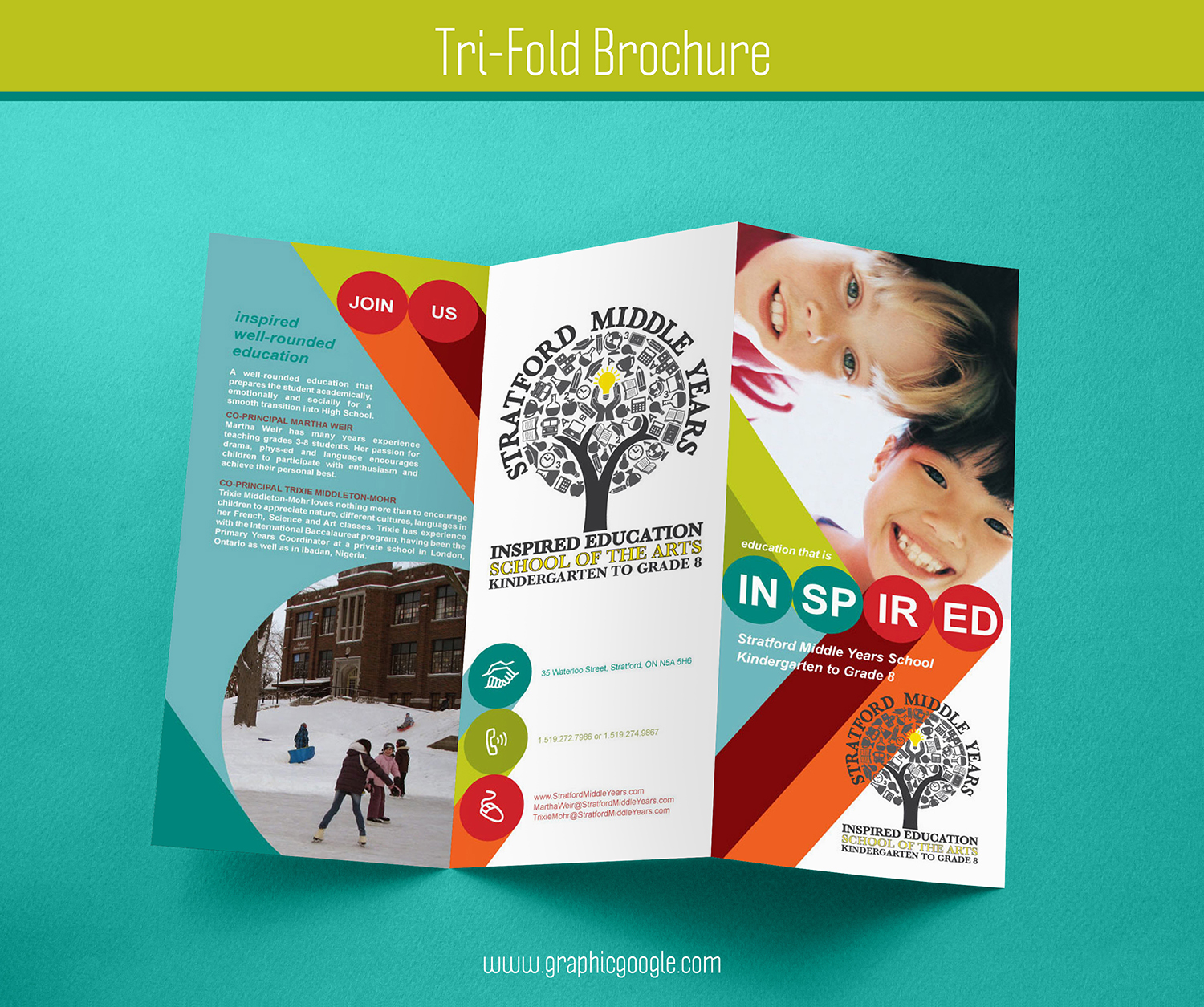 Free Tri-Fold Brochure Mockup For Graphic Designers-1