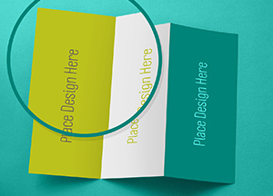 Free Tri-Fold Brochure Mockup For Graphic Designers
