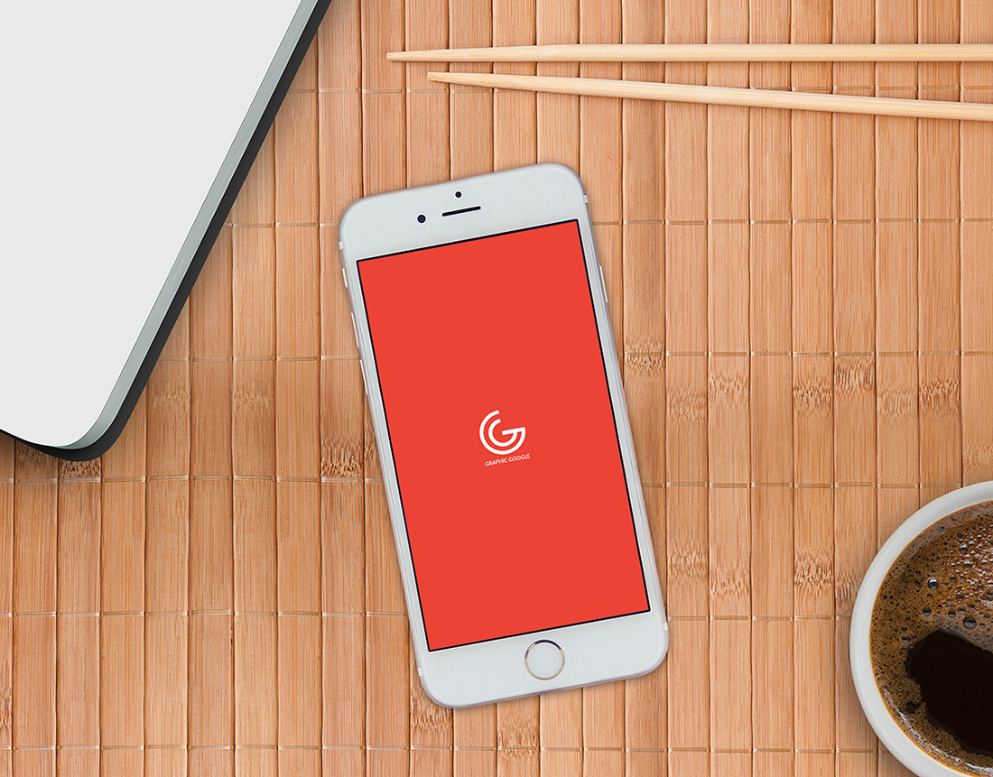 Free Designer iPhone 6 Mockup