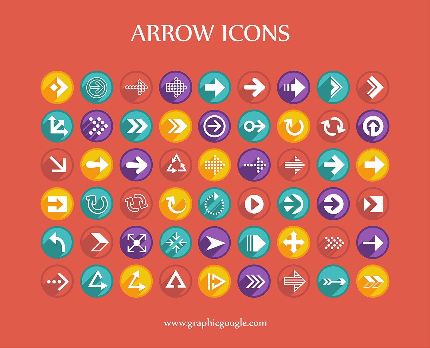 54 Free Arrow Icons