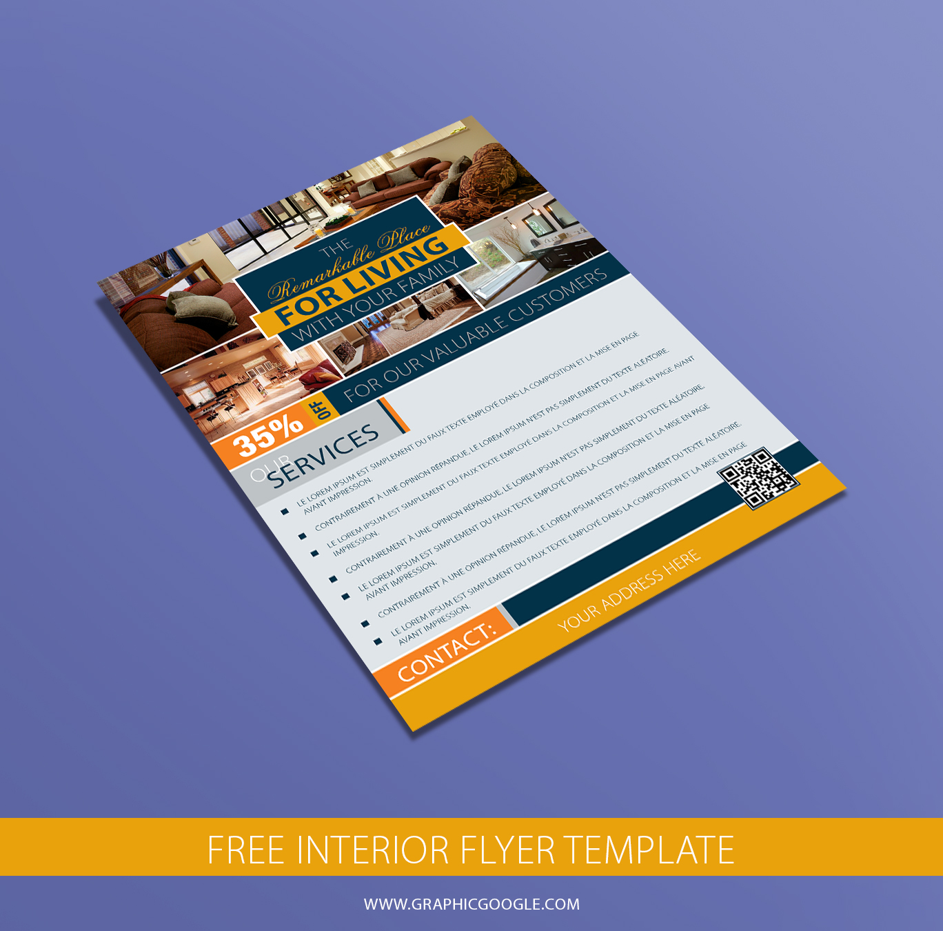 Free Interior Flyer Template
