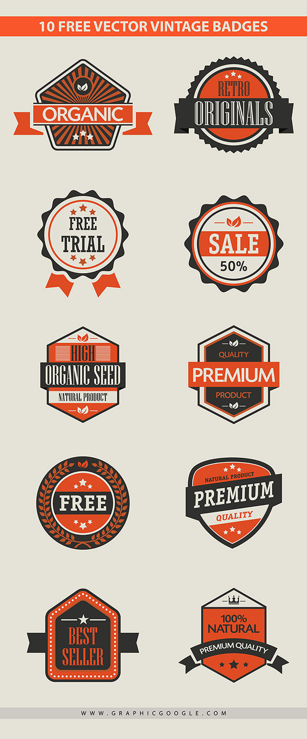 10-free-vector-vintage-badges