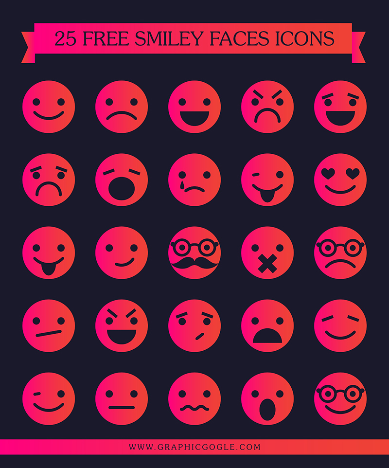 25-free-smiley-faces-icons