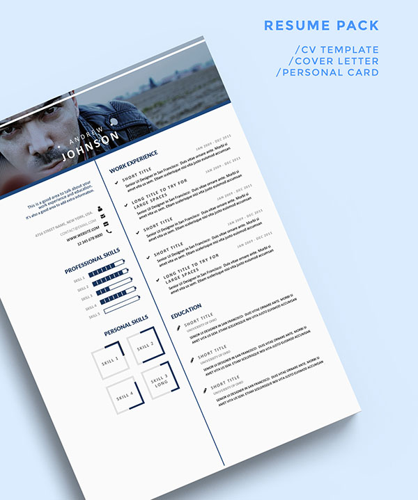 bluish-resume-template-for-ui-designers