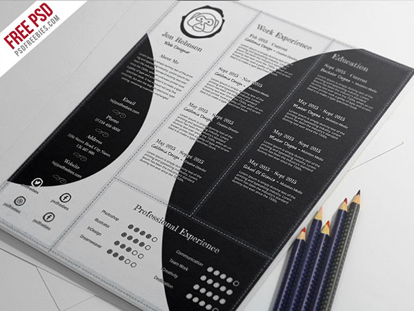 creative-and-professional-resume-free-psd-template
