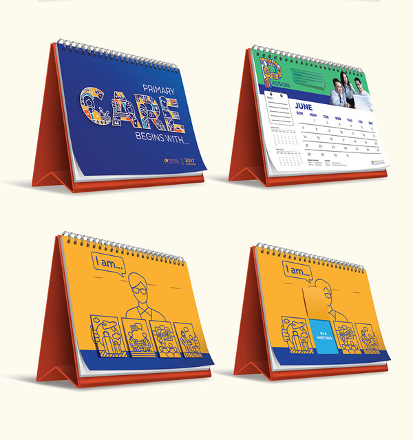 Desk Calendar Design : Wall desk calendar designs ideas for graphic