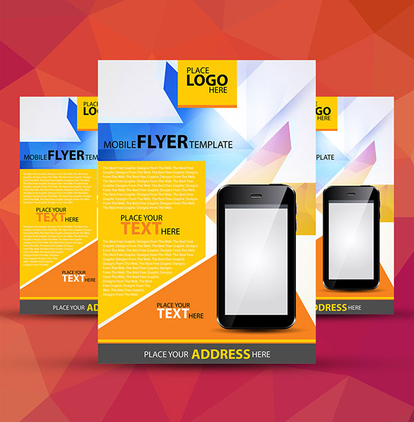 free-a4-mobile-flyer-template