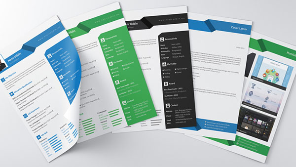 free-professional-resume-cover-letter-with-portfolio