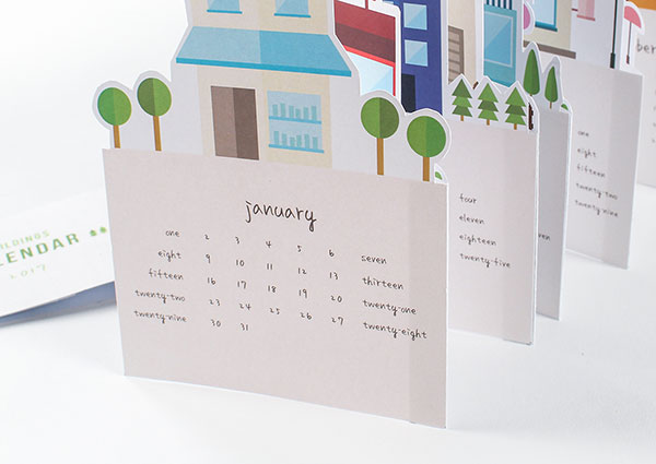 Creative Table Calendar Ideas : Wall desk calendar designs ideas for graphic
