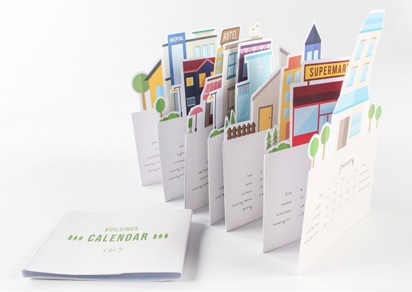 Calendar Design Idea : Wall desk calendar designs ideas for graphic