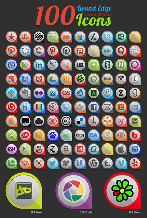100-round-edge-social-media-icons-ai-pngs