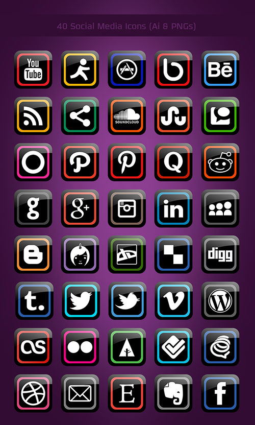 40-free-modern-social-media-icons-pngs-ai-file