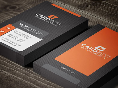 black-mat-business-card-template-design