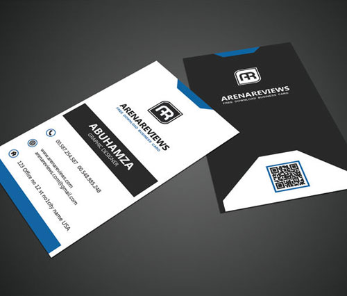 free-black-white-vertical-business-card-standard-template