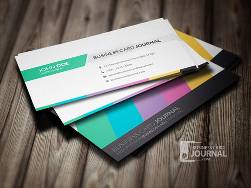 free-clean-multicolor-business-card-template-design