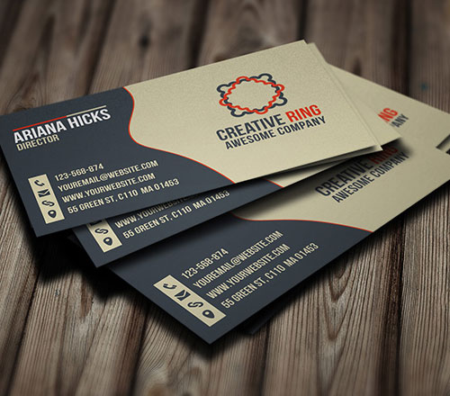 free-creative-ring-business-card-template-design