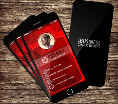 free-creative-iphone-business-card-design-template