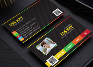 Free Designers Creative Personal Business Card Template PSD
