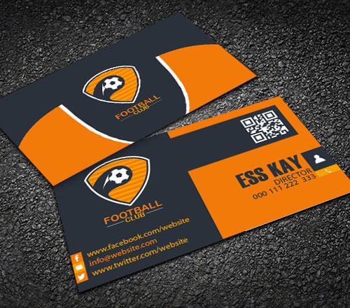 free-football-club-creative-business-card-template-design