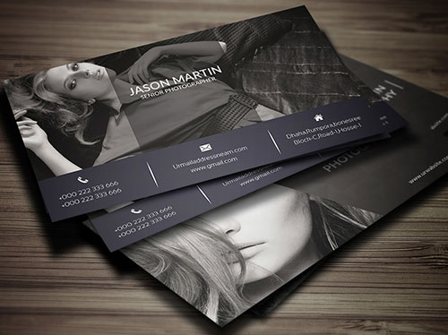 free-photography-mat-business-card-design-template