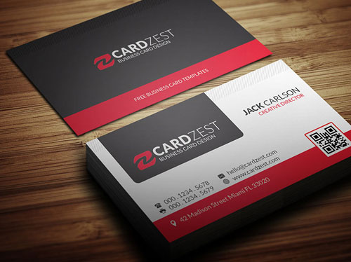 Magnificent Free Business Cards Design Templates - Professional business card templates