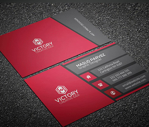 Business Card Vertical Template Pasoevolistco - Business card vertical template
