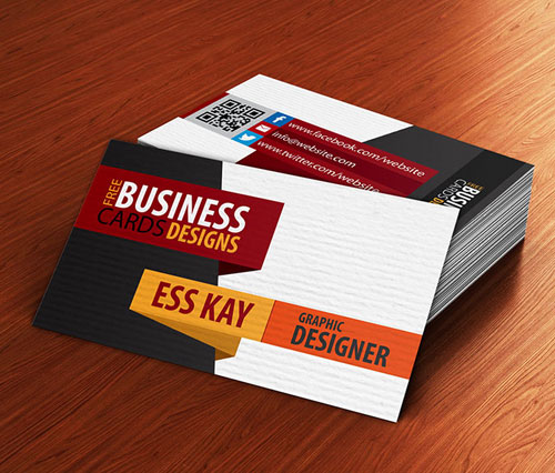 free-textured-creative-business-card-template-design