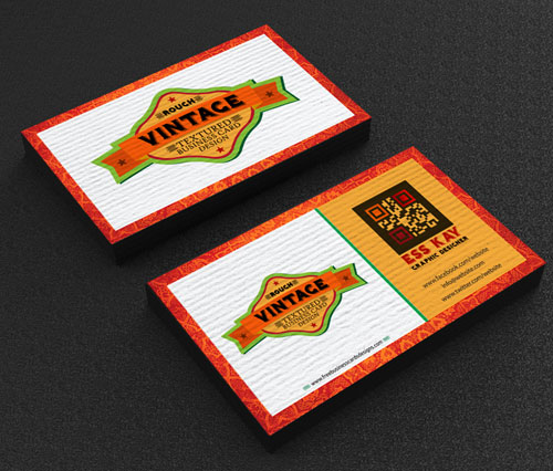 free-vintage-textured-business-card-design-template