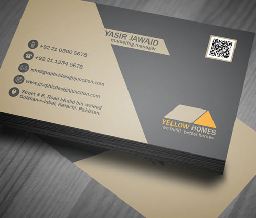 free-yellow-homes-real-estate-business-card-psd-design-template