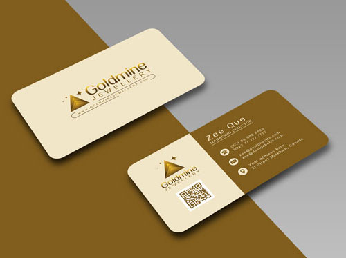 50 magnificent free business cards design templates for Rounded corner business card template