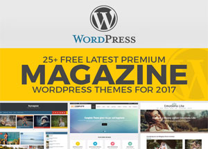 25+ Free Latest Premium Magazine WordPress Themes For 2017