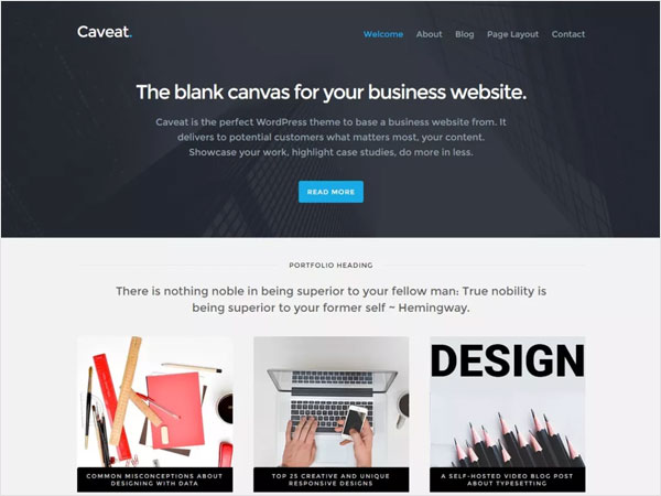 caveat-a-corporate-business-style-wordpress-theme