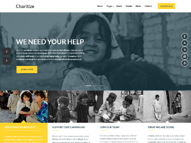 free-charitize-a-simple-clean-wordpress-theme-for-non-profit-organizations-foundations-2017