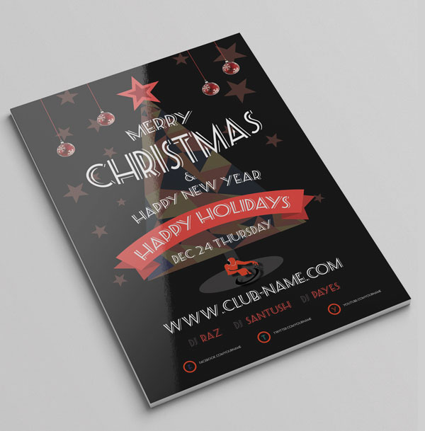 free-cool-christmas-flyer-template