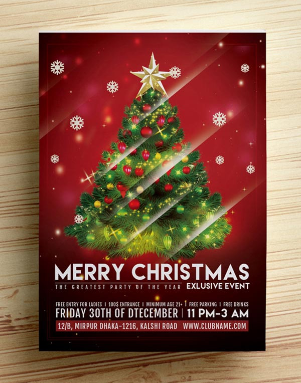 free-psd-christmas-party-flyer